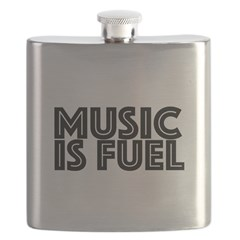 Music is Fuel Flask
