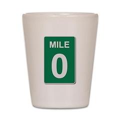Mile Marker Zero Shot Glass