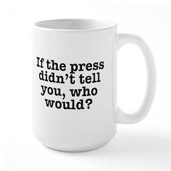 The Press (White) Mugs