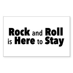 Rock and Roll I Decal