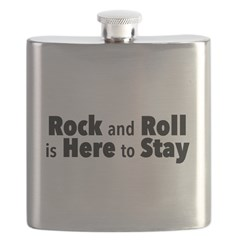 Rock and Roll I Flask