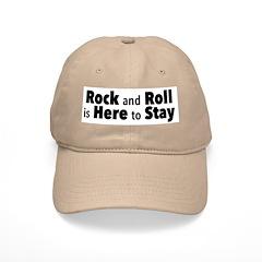 Rock and Roll I Baseball Cap