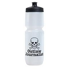 Outlaw Journalist Sports Bottle