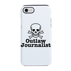Outlaw Journalist iPhone 8/7 Tough Case