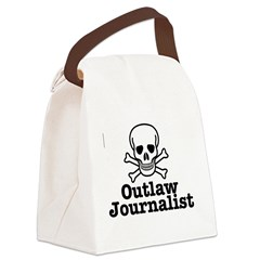 Outlaw Journalist Canvas Lunch Bag