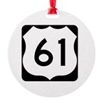 Highway 61 Round Ornament