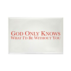 God Only Knows (White) Magnets