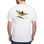 Gouldian Finch T-Shirt - design back