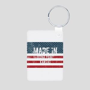 Made in Cedar Point, Kansas Keychains
