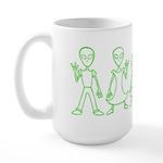ILYAlienFamily Large Mug