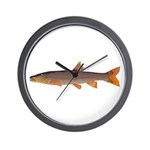 Sacramento pikeminnow Wall Clock