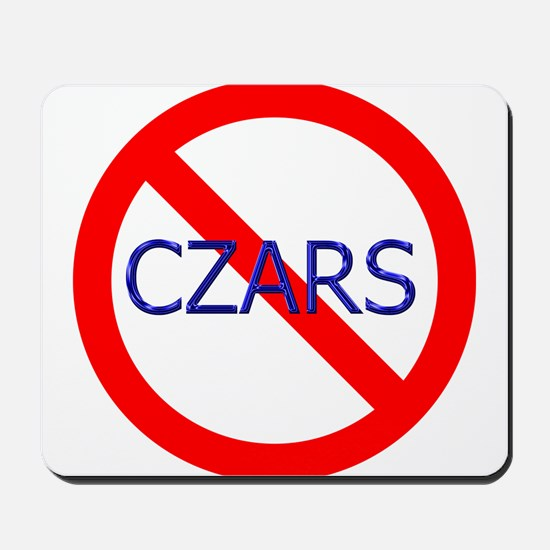no czars! Mousepad