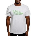ILYAlienFamilyText Light T-Shirt