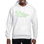ILYAlienFamilyText Hooded Sweatshirt