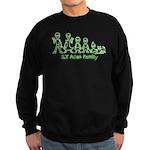 ILYAlienFamilyText Sweatshirt (dark)