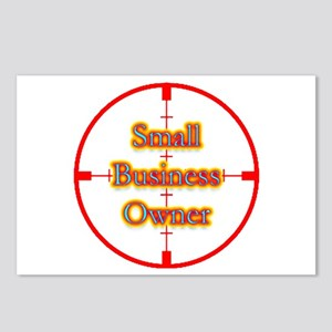 Small Business Owner in Cross Postcards (Package o