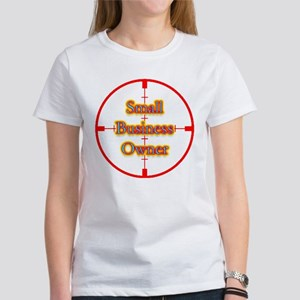 Small Business Owner in Cross Women's T-Shirt