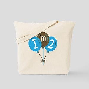 2nd Birthday Balloons Tote Bag