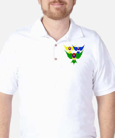 Gouldian Finch Golf Shirt