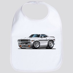 Challenger White Car Bib