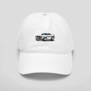 Challenger White Car Cap