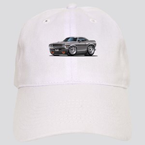 Challenger Silver Car Cap