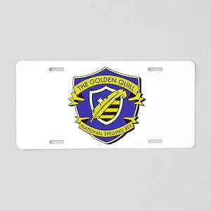 fake logo - spelling bee de Aluminum License Plate