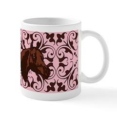 Fancy Pink Horse Head Mug
