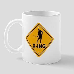 Badminton X-ing Mug