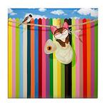 Over The Rainbow Tile Coaster