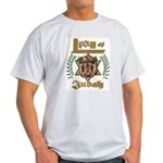 Lion of Judah 6 Ash Grey T-Shirt