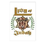 Lion of Judah 6 Postcards (Package of 8)