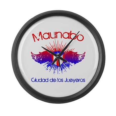 Maunabo Large Wall Clock