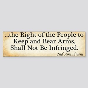 Right to Bear Arms (Bumper)