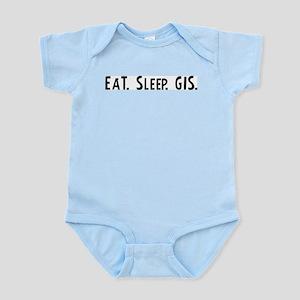 Eat, Sleep, GIS Infant Creeper