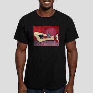 Jessica Bunny Men's Fitted T-Shirt (dark)