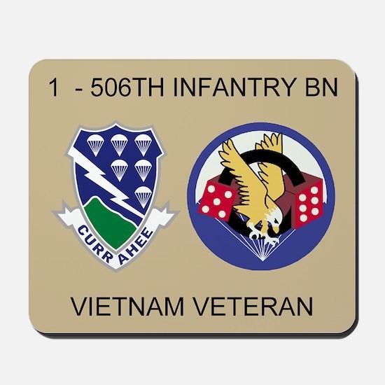 1-506th Infantry Vietnam Mousepad 2