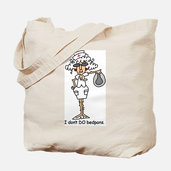 Bedpans Tote Bag