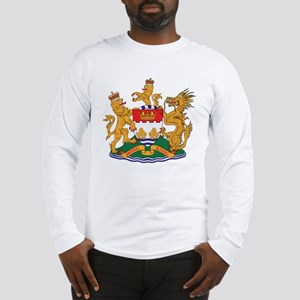 Hong Kong Coat of Arms (1959) Long Sleeve T-Shirt