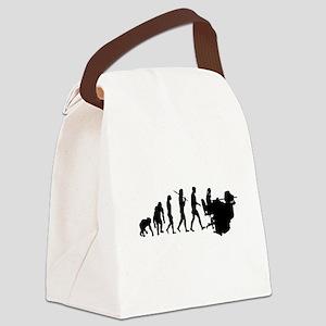 Receptionist Evolution Canvas Lunch Bag