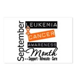 Leukemia Awareness Month v3 Postcards (Package of