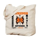 Leukemia Month Butterfly Tote Bag