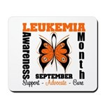 Leukemia Month Butterfly Mousepad