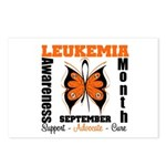 Leukemia Month Butterfly Postcards (Package of 8)