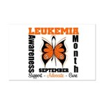 Leukemia Month Butterfly Mini Poster Print