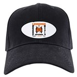 Leukemia Month Butterfly Black Cap