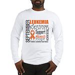Leukemia Month - Sept Long Sleeve T-Shirt