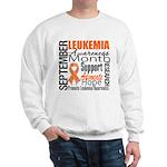 Leukemia Month - Sept Sweatshirt