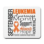 Leukemia Month - Sept Mousepad
