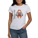 Leukemia Awareness Month v5 Women's T-Shirt